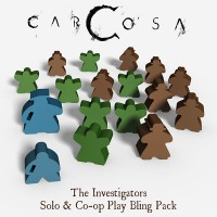 Carcosa Co-op Play & Solo Bling Pack